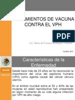 Lineamientos de Vacuna Contra El Vph