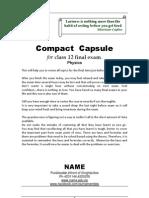 Physics Capsule