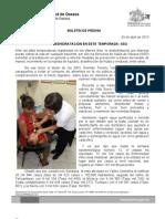 03/04/13 Germán Tenorio Vasconcelos EVITA LA DESHIDRATACIÓN EN ESTA TEMPORADA, SSO