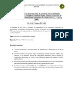Agenda Curso Regional SIG-Teledeteccion