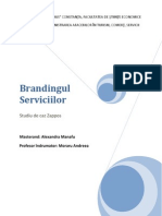 Alexandra Manafu - Brandingul Serviciilor