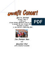 Crozet UMC is hosting a concert as a fundraiser for the Crozet library