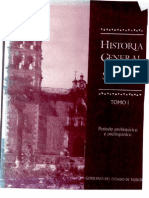 Historia General Estado Sonora TomoI