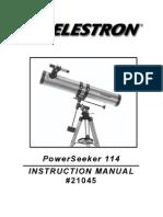 Manual Teleskop