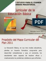 Mapa Curricular y Campos Formativos