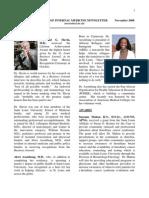 Im Newsletter Nov 2008