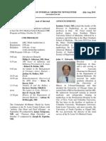 Newsletter Aug 2011