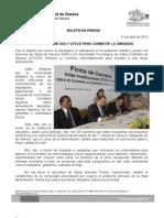 12/04/12 Germán tenorio Vasconcelos convenio Entre Sso y Utvco Para Combatir La Obesidad