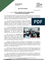 15/04/13 Germán Tenorio Vasconcelos capacita Sso a Personal de 54 Laboratorios y 15 Puestos de Sangrado