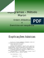 Taquigramas – Método Maron_Guilherme_Maia