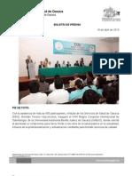 18/04/13 Germán Tenorio Vasconcelos PIE de FOTO XXIII Magno Congreso Internacional de Odontología