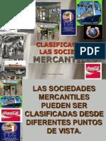 La Clasificacion de Sociedades Mercantiles