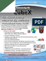 CubeX 3D Printer Brochure