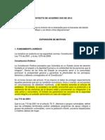 Acuerdo Consejo - Municipio Estampilla