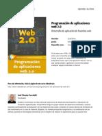 Programacion de Aplicaciones Web 2 0