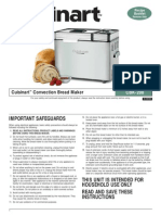 Cuisinart Bread Maker Manual