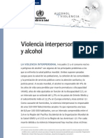 Ojooo Violencia Interpersonal y Alcohol