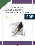 DIFERENCIA+ENTRE+ENDOSO+Y+CESIÓN+ORDINARIA+DE+DERECHOS