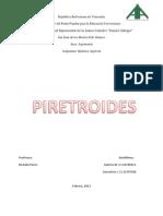 Trabajo de Piretroides