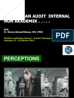 Pemahaman Audit Mutu Internal
