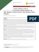 Ethnobotanical Study...Ethiopia