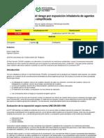 NTP 750  Evaluación del riesgo
