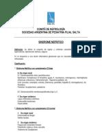 Síndrome Nefrítico (Sociedad Argentina de Pediatría)