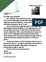 parent news letter