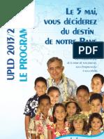 Le Programme UPLD 2013-2018
