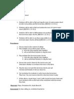 AP Music Theory Lesson Plan
