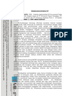 Analisis Implementasi E-Procurement Pada BUMN