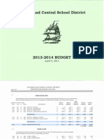 Guilderland CSD Adopted 2013-14 Budget