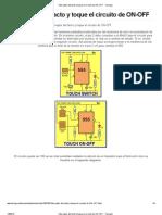 Interruptor Del Tacto y Toque El Circuito de on-OfF - Taringa!11