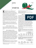 Chile en Conserva Preparaci n y Envase
