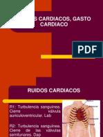 6 Clase_ruidos Cardiacos, Gasto Cardiaco[1]