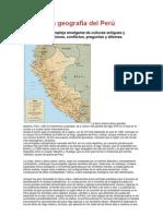 La geografía del Perú