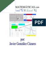 Matematicas Con Word y Excel