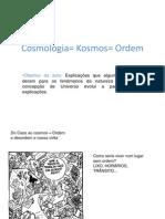 Cosmologias e calendários 9º ano