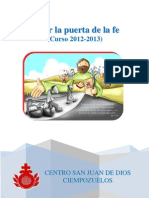 abrirlapuertadelafeproyectocurso2012-2013-121018080952-phpapp01