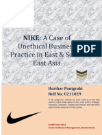 Business Ethics - A Case Study on Nike