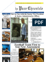 The Pace Chronicle - Volume I, Issue XXIV - 4.18.12