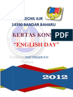 Kertas Kerja English Day