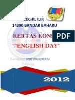 Kertas Kerja English Day