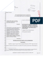 Recall Arpaio Constitutionality Lawsuit - Motion To Dismiss