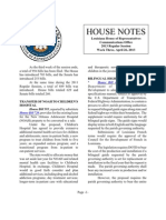 2013 House Notes - Week 3