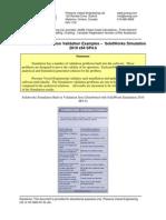 PV Eng Simulation Validation Samples