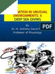 RUE II Deep Sea Diving
