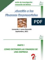 Diapositivas Para Curso Basico Finanzas Sep2011