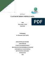 Gastroskisis Dan Omfalokel Referat