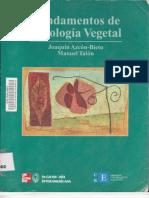 FUNDAMENTOS DE FISIOLOGIA VEGETAL - JOAQUÍN AZCÓN - BIETO MANUEL TALÓN